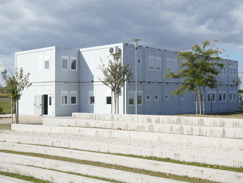Moduláris épületek, irodakonténer