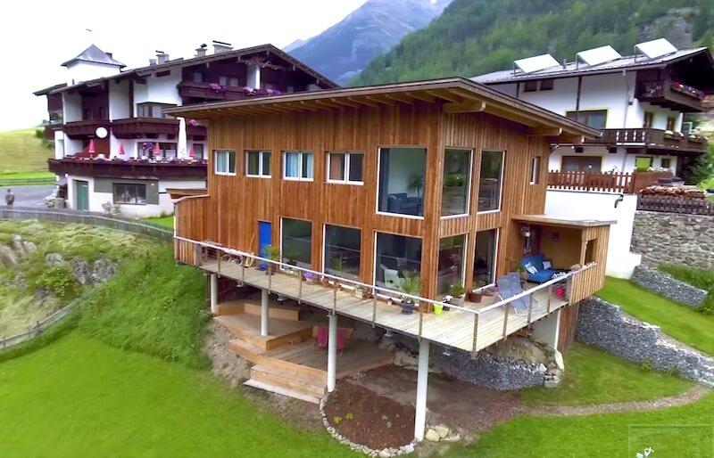 moduláris ház külső